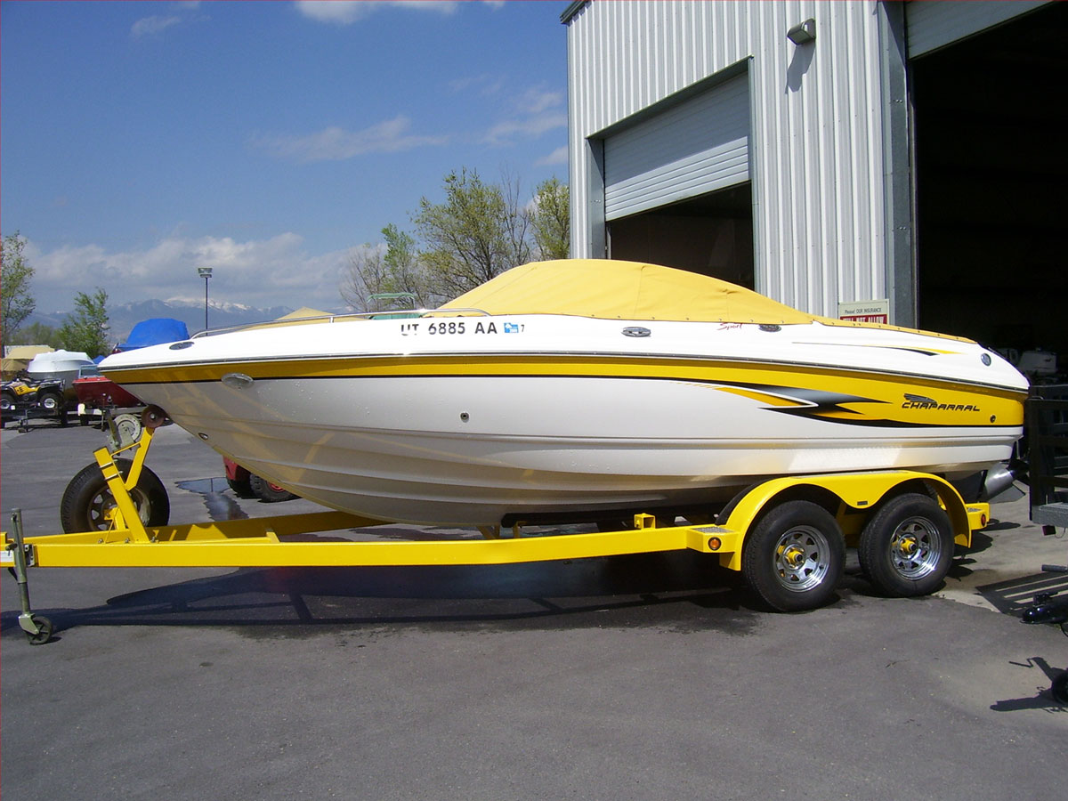 Spray in Boat and Trailer Liner