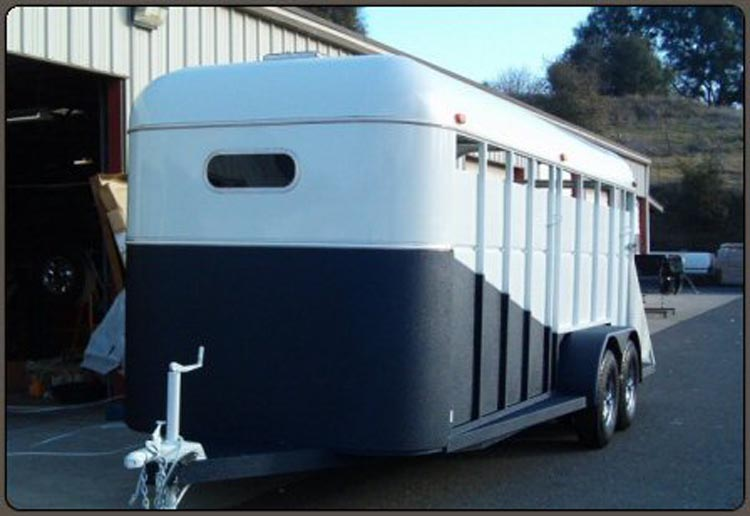 Spray on Liner Protection for Trailers