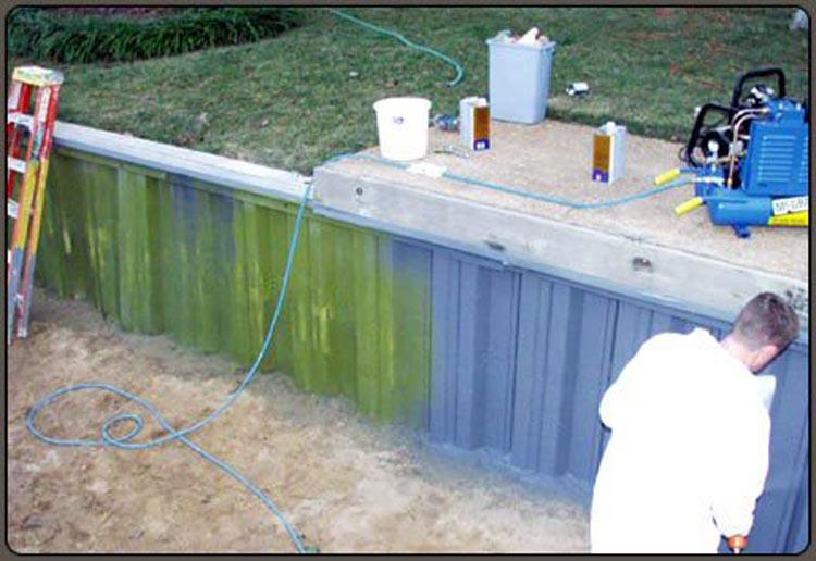 Bulkhead Coating - Corrosion Protection