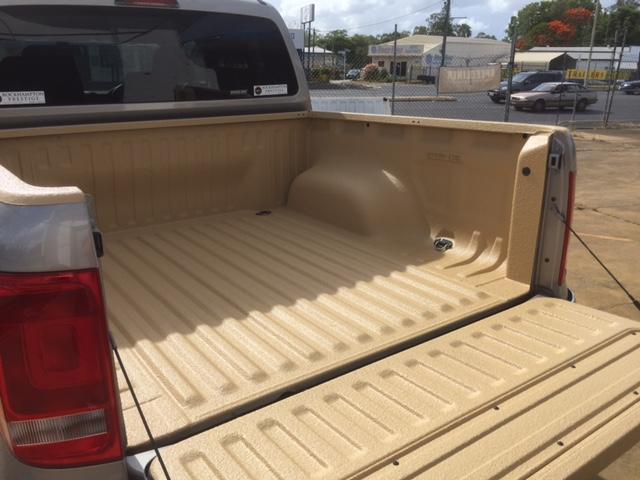 Speedliner® Spray In Bed Liner for Trucks in Desert Tan