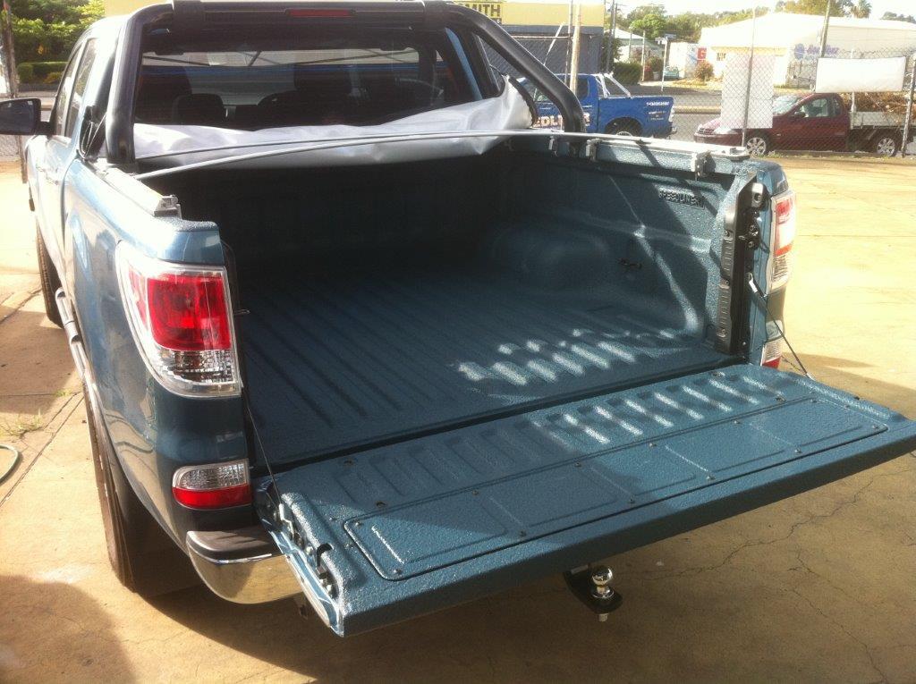 Speedliner® Spray In Bed Liner for Trucks in Custom Blue