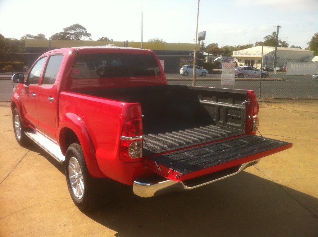Truck Bed Liner in Black