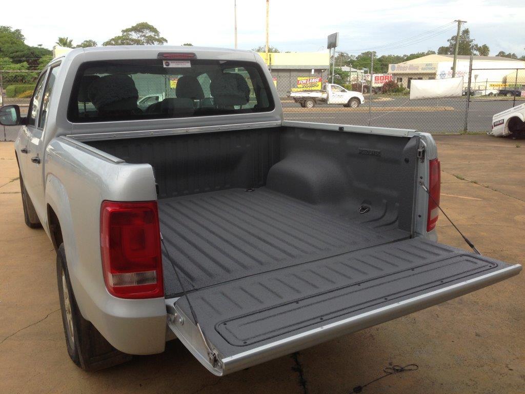 Truck Bed Liner in Gray