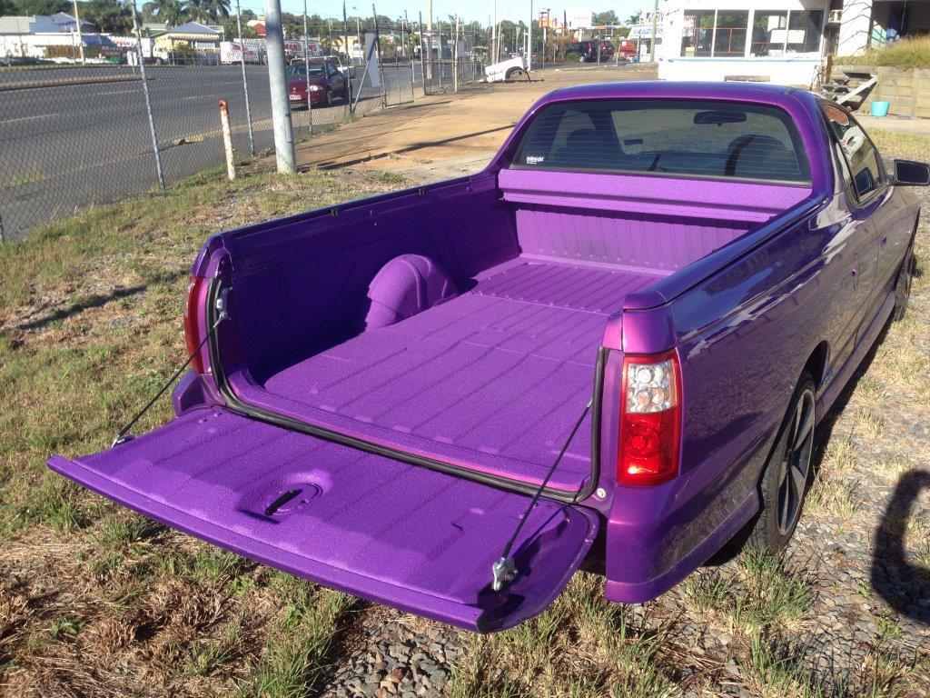 Spray on Vehicle Coating - Custom Automotive Colors Available