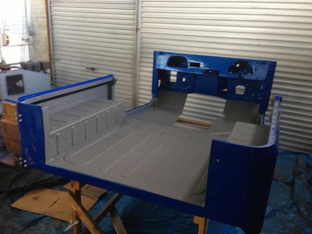 Interior Cab Coverage with Spray on Liner