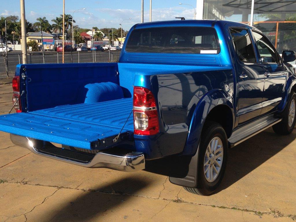 Speedliner® Spray In Bed Liner in Custom Blue Color