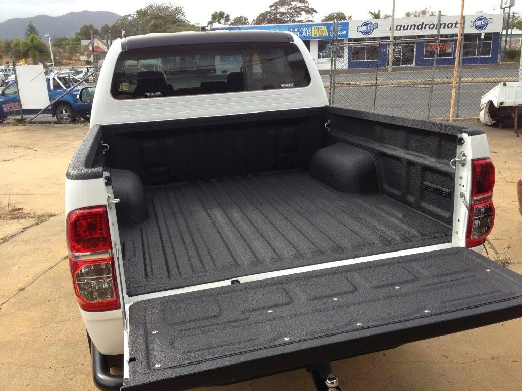Truck Bed Liner, includes bedrail coverage