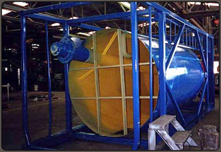 Industrial Coating Interior and Exterior of Silo