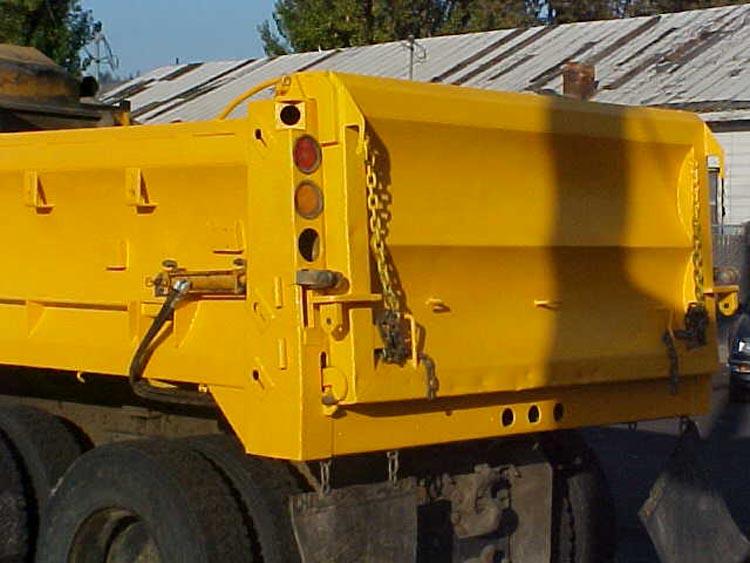 Yellow Speedliner Spray on Liner for construction equipment coating